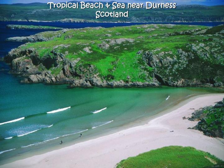 Tropical Beach & Sea near Durness