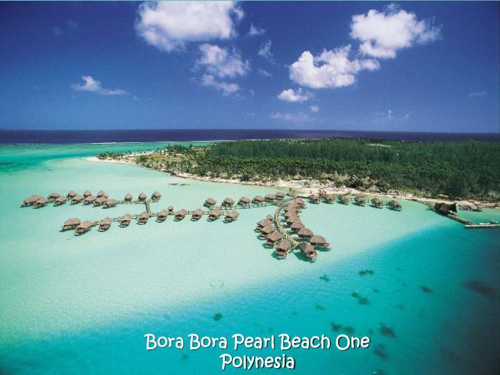 Bora Bora Pearl Beach One