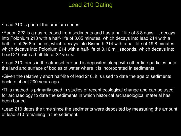 Lead 210 Dating