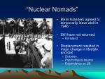 nuclear nomads