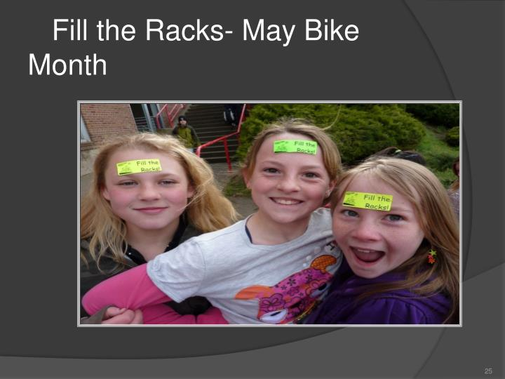 Fill the Racks- May Bike Month
