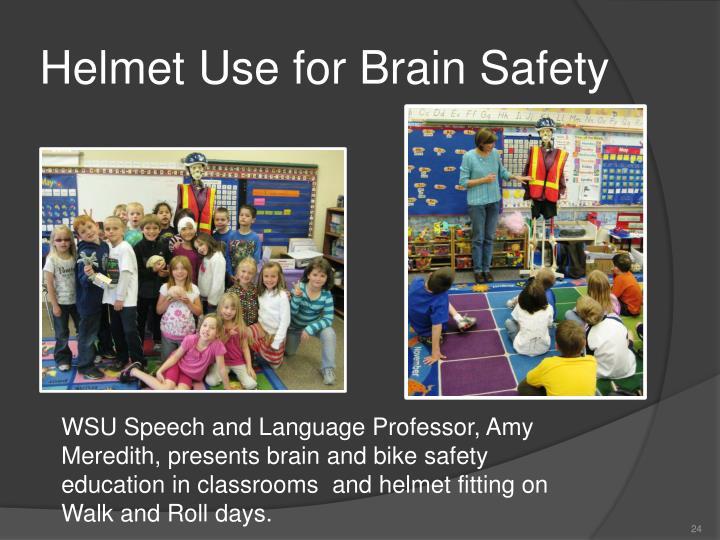 Helmet Use for Brain Safety