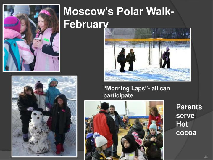 Moscow's Polar Walk- February