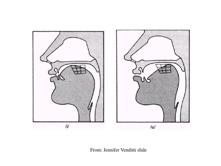 From: Jennifer Venditti slide