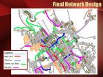 final network design4