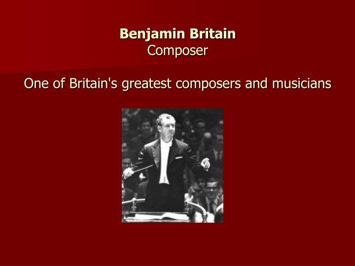 Benjamin Britain