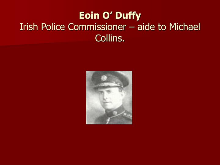 Eoin O' Duffy