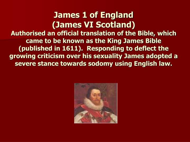 James 1 of England