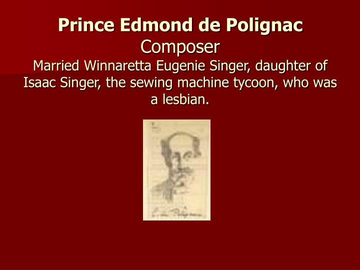 Prince Edmond de Polignac