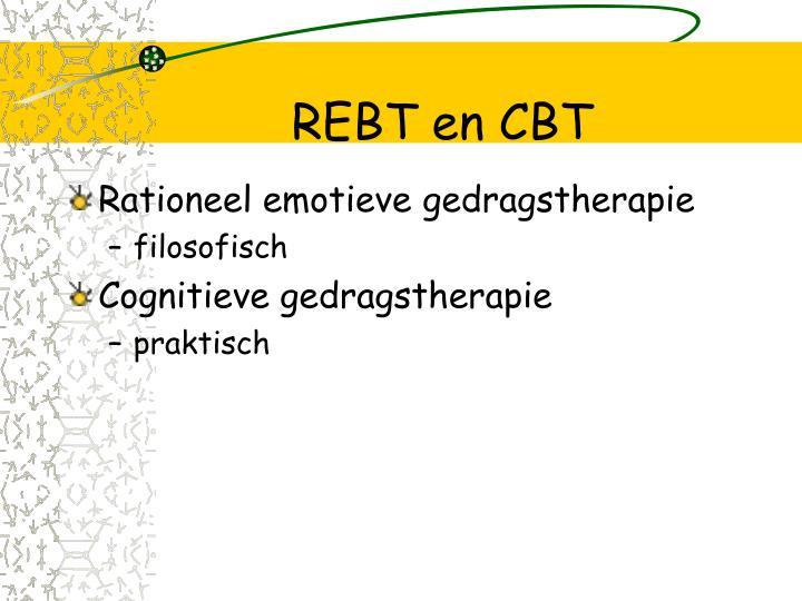 REBT en CBT