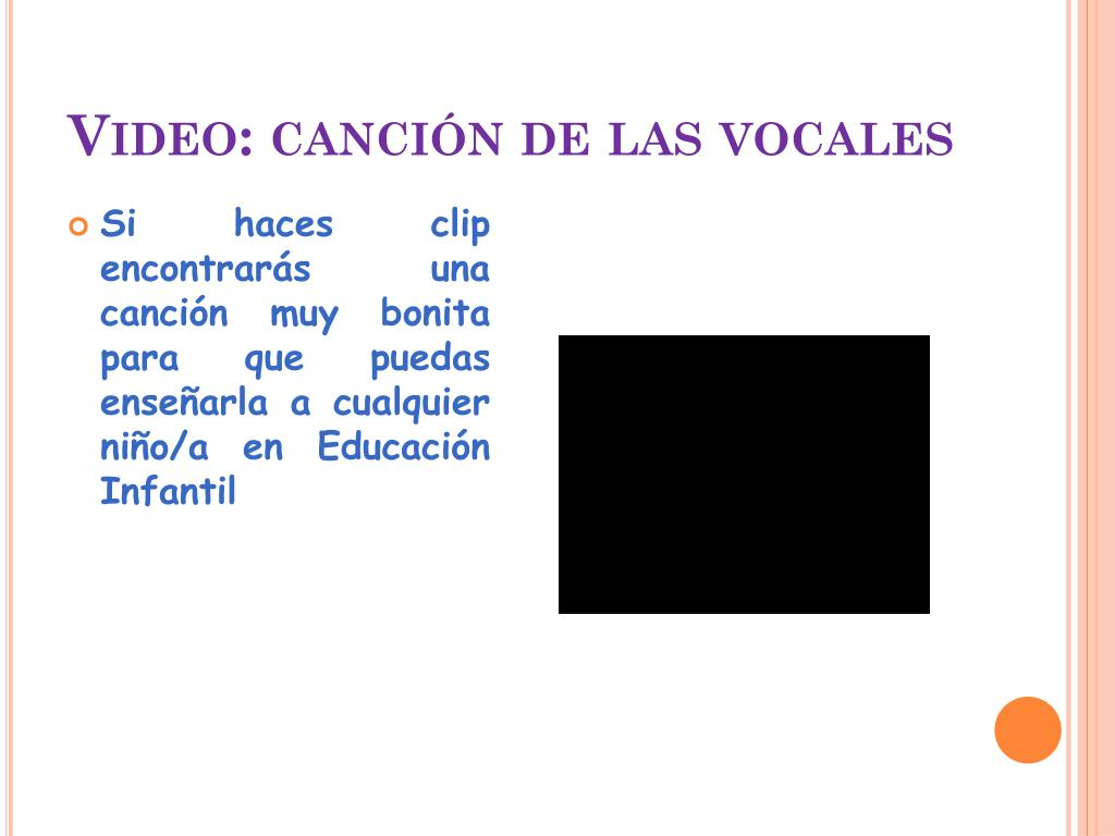 Video: canción de las vocales
