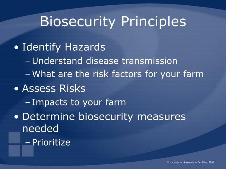 biosecurity Purpose of the biosecurity system the biosecurity system prevents or manages risks from harmful organisms, like pests and diseases the biosecurity system helps protect new zealand's economy, environment, human health, and a range of social and cultural values.