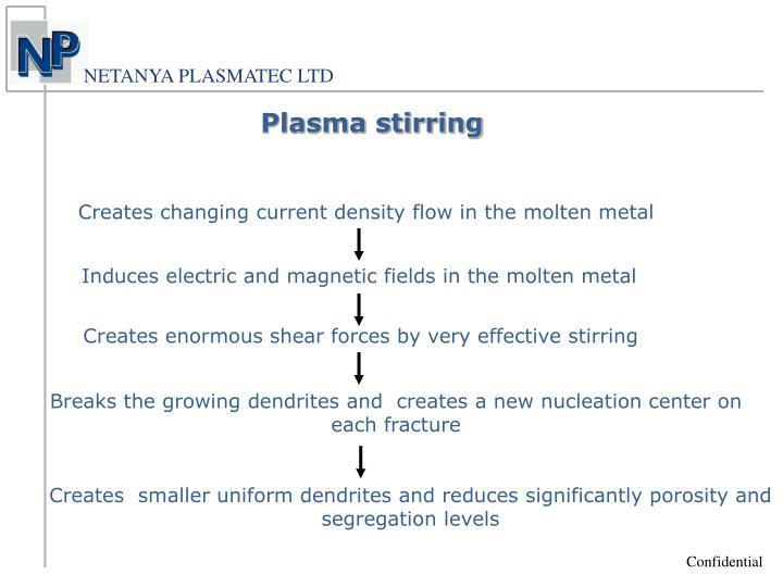 Plasma stirring