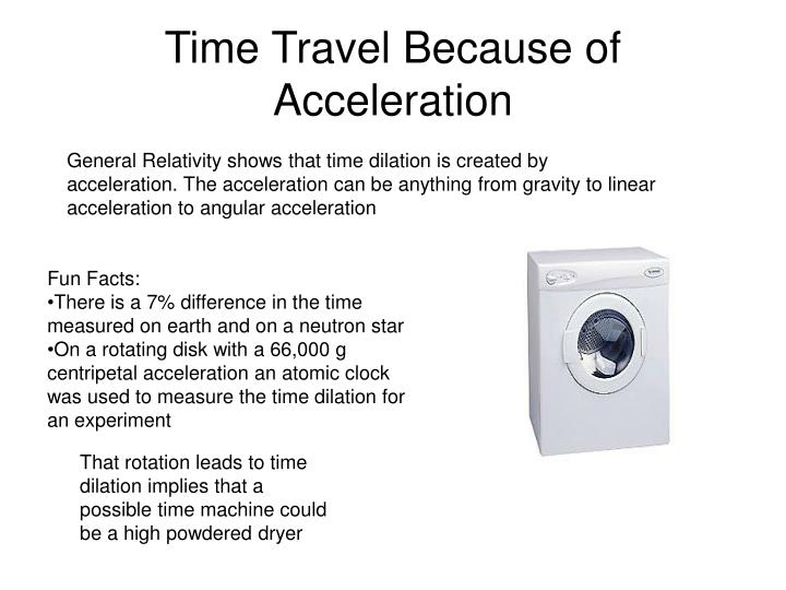 Time Travel Because of Acceleration