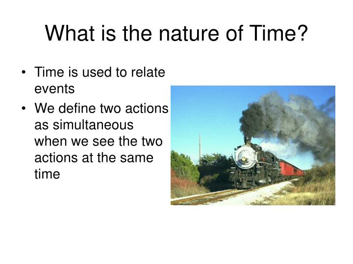 What is the nature of time