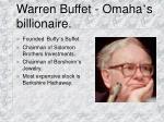 warren buffet omaha s billionaire