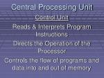 central processing unit2