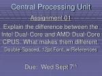 central processing unit25