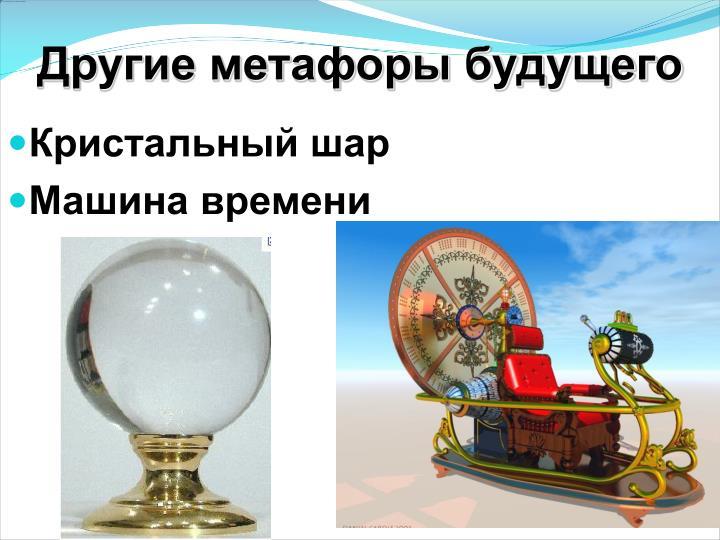 Другие метафоры будущего