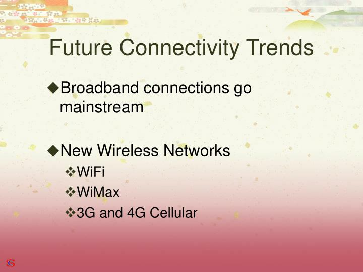 Future Connectivity Trends