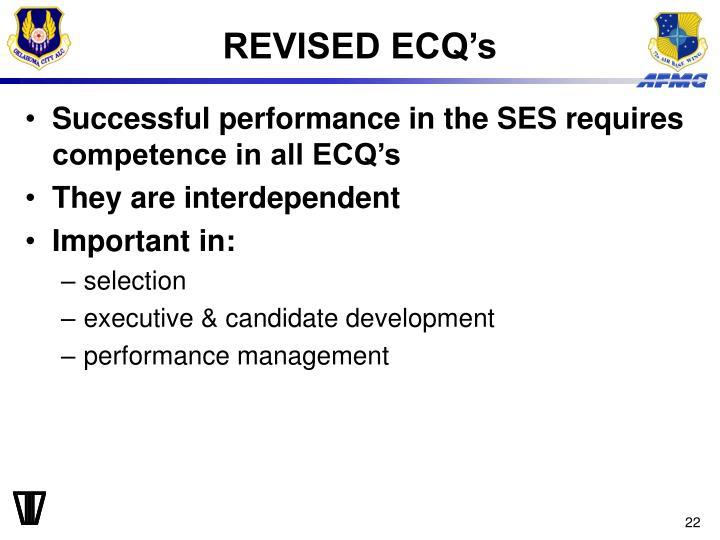 REVISED ECQ's