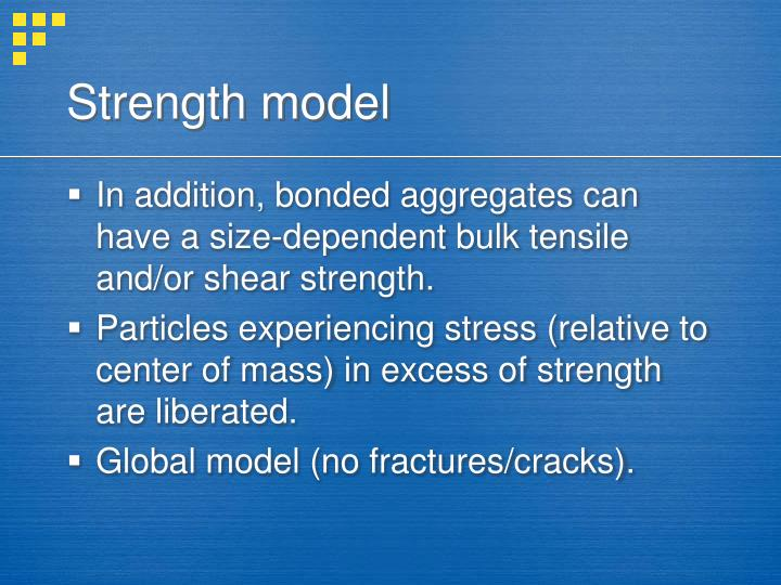 Strength model