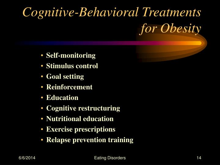 Cognitive-Behavioral Treatments for Obesity
