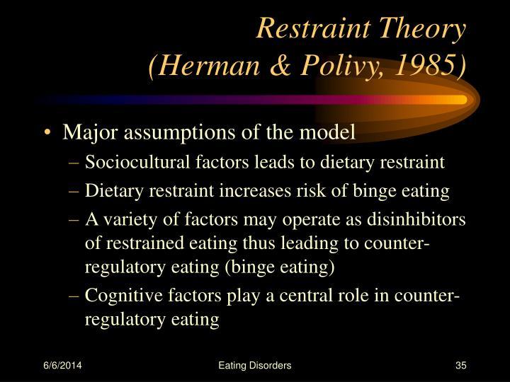 Restraint Theory