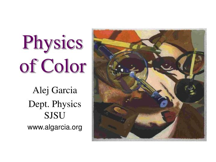 physics of color n.