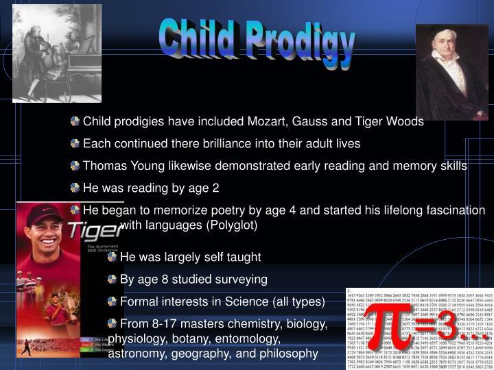 Child Prodigy