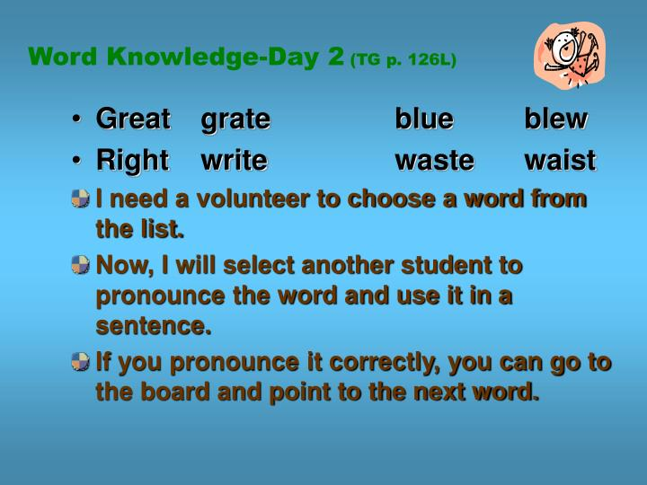 Word Knowledge-Day 2