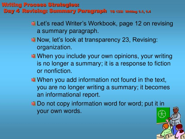 Writing Process Strategies: