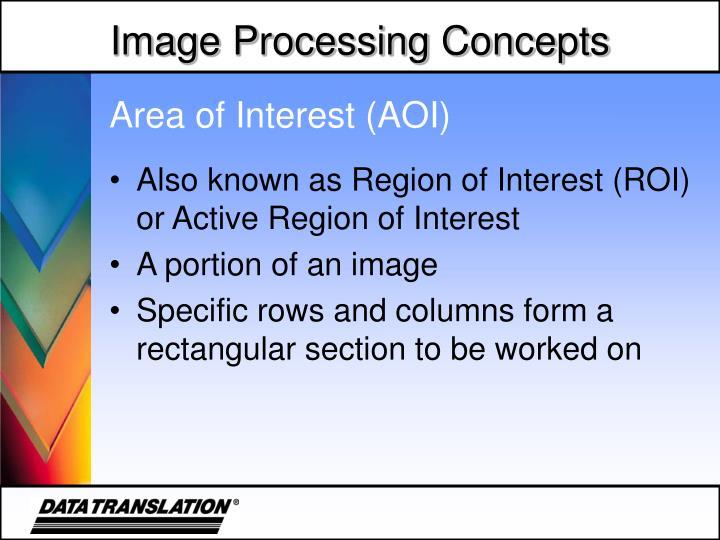 Area of Interest (AOI)