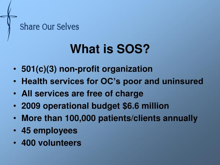 What is SOS?