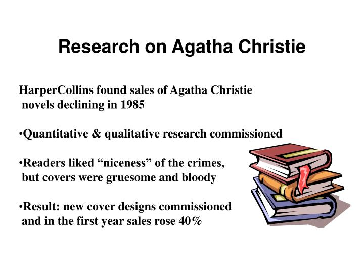 Research on Agatha Christie