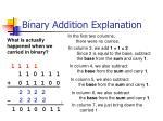 binary addition explanation