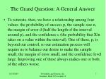 the grand question a general answer4