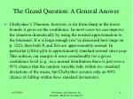 the grand question a general answer5