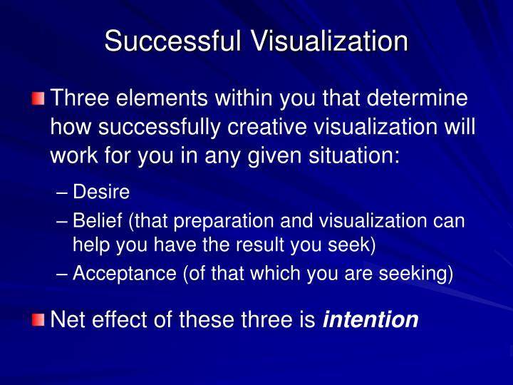 Successful Visualization