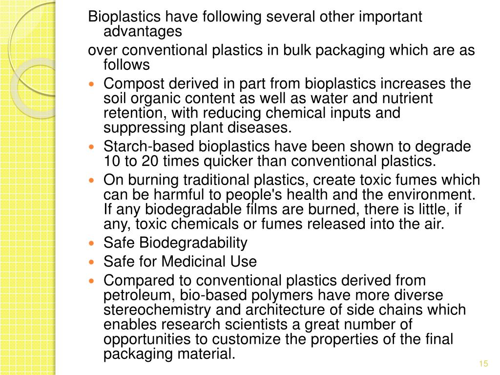 PPT - APPLICATION OF BIOPLASTICS IN BULK PACKAGING A