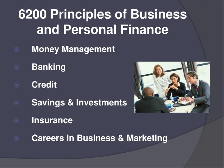 6200 Principles of Business