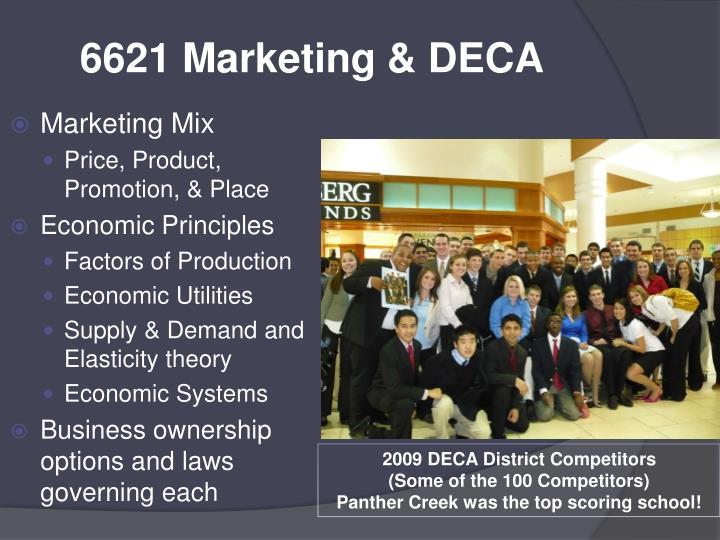 6621 Marketing & DECA
