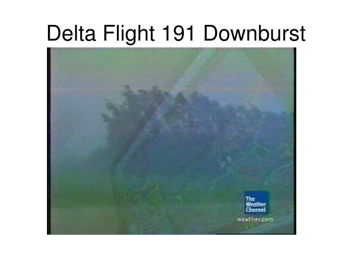 Delta Flight 191 Downburst