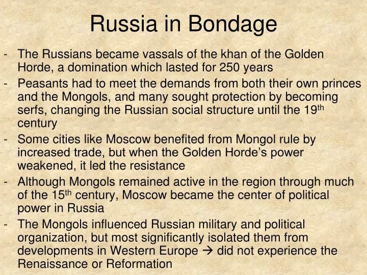 Russia in Bondage