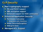 clr security