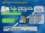 sql clr functionality