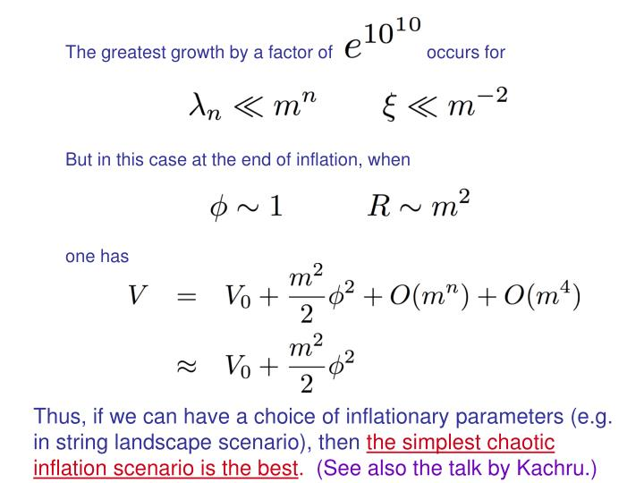 The greatest growth by a factor of                   occurs for