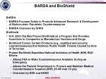 barda and bioshield
