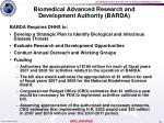 biomedical advanced research and development authority barda3