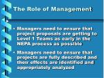 the role of management1